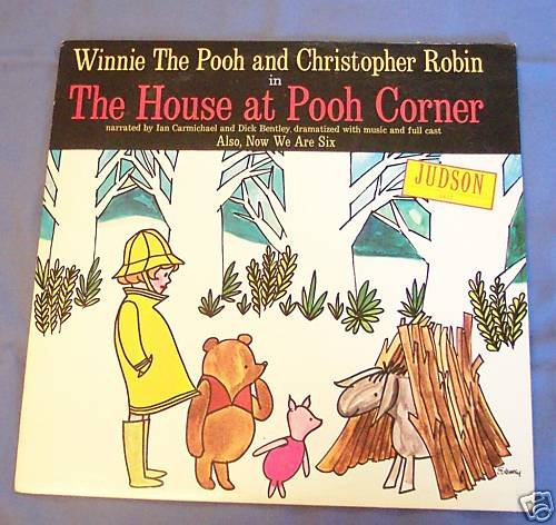 Winnie The Pooh and Christopher Robin in The House at Pooh Corner and Now We Are Six by Judson