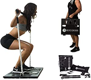 BodyBoss Home Gym 2.0 with Extra Bands