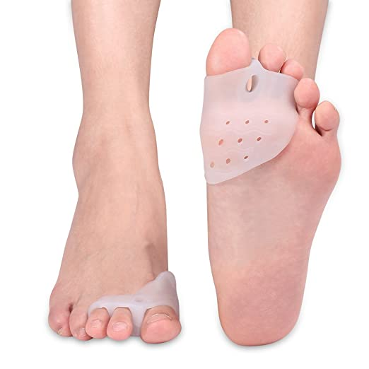 Amazon.com: Bunion Corrector Relief Gel Toe Separator for Hammer Toe with Forefoot Pads Cushion, Silicone Toe Straightener Spacer Hallux Valgus for Women ...