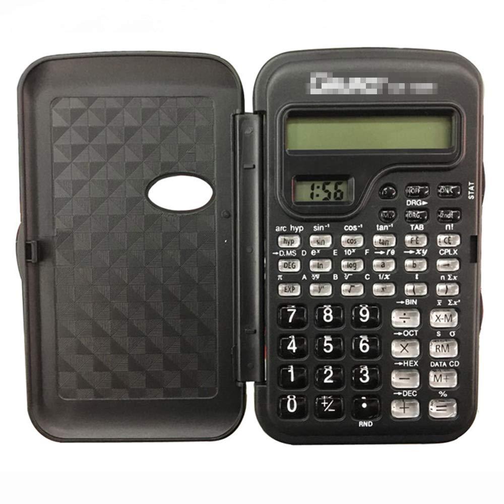 [해외]Tyou 학생 계산기 투명 단추 과학 전자 계산기 사무실 학교를 위한 탁상용 계산기 / Tyou Student Calculator Transparent button Science Computer desktop calculator for office school