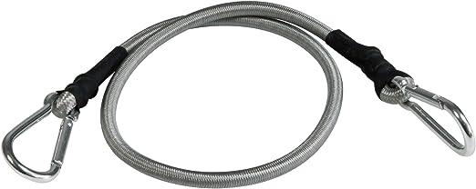 Noir 70/x 3.5/x 3.5/cm 70/cm Windhager Mousqueton Expander Corde de s/écurit/é en Caoutchouc Corde planifier Voile Spanner Kara Binde Lot de 4/Crochets 10979