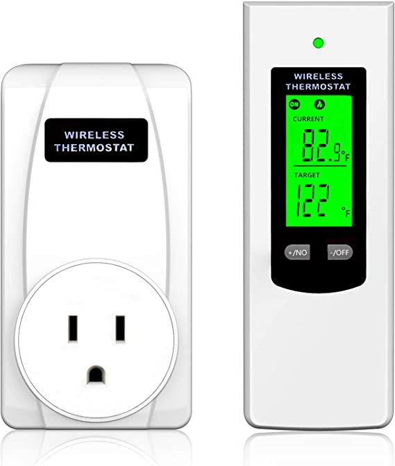 Wireless Programmable Thermostat Plug