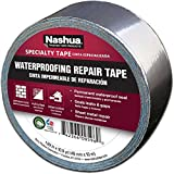 Nashua Aluminum Foil Tape for Waterproofing Repair, 48 mm Width, 11 mil Thick, 10 m Length