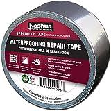 Nashua Aluminum Foil Tape for Waterproofing Repair, 48 mm Width, 11 mil Thick, 10 m Length