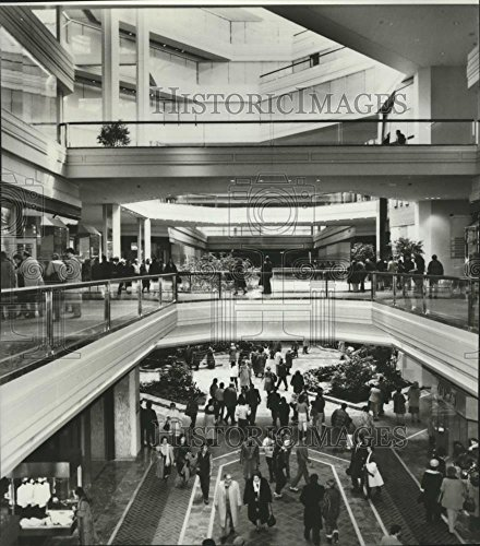 1984 Press Photo Retail Center Copley Place in Boston, Massachusetts - - Copley Place In Boston