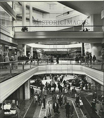 1984 Press Photo Retail Center Copley Place in Boston, Massachusetts - - Boston Place Copley