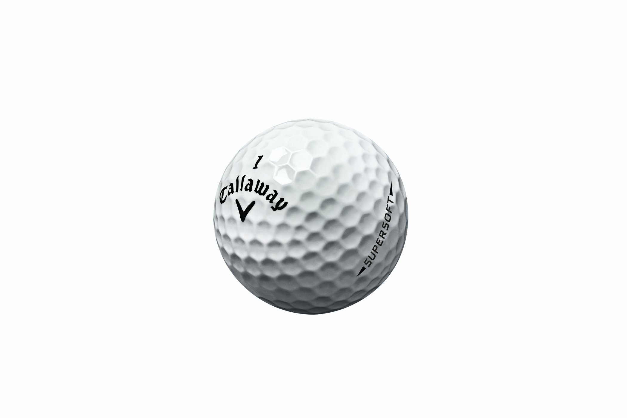 Callaway Super Soft Golf Balls, White (Pack of 12) by Callaway