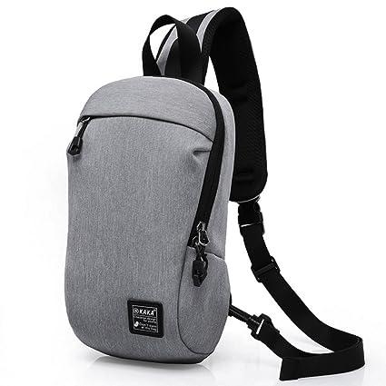 GossipBoy mochilas deporte para hombre, mochila escolar ligera, mochila de pecho, bolso deportivo