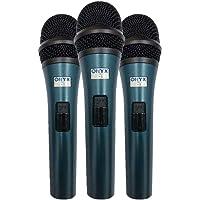 Kit 3 Microfones Com Fio TK-51C Onyx