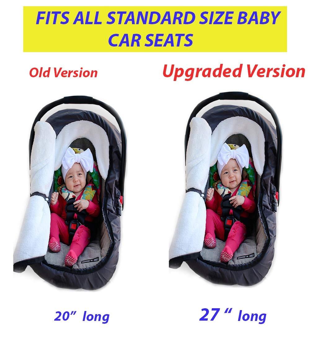 ed1d1e5c8 Amazon.com  Infant Baby Car Seat Cover - Weatherproof Sneak A Peek ...
