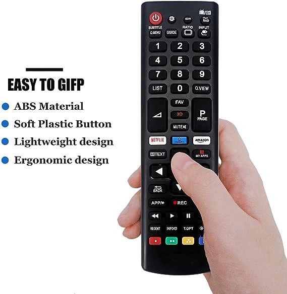 AKB75095308 Control Remoto Reemplazo Mando a Distancia LG Smart TV ...