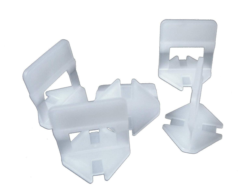 1000 Zuglaschen 3-12 mm Fugenbreite 2mm Amafino