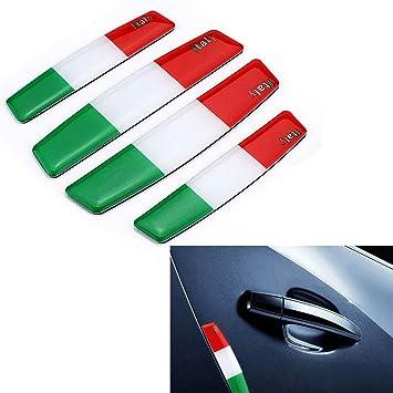 4 Teilesatz Italien Flagge Tür Seitenkantenschutz Anti
