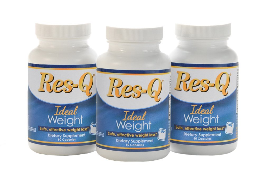 Res-Q Ideal Weight 3-bottle pack