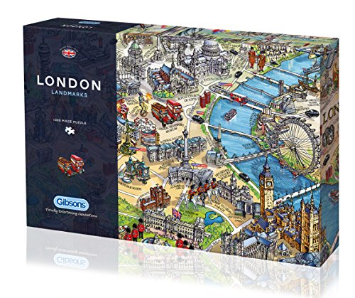 Gibsons London Landmarks Jigsaw Pieces product image