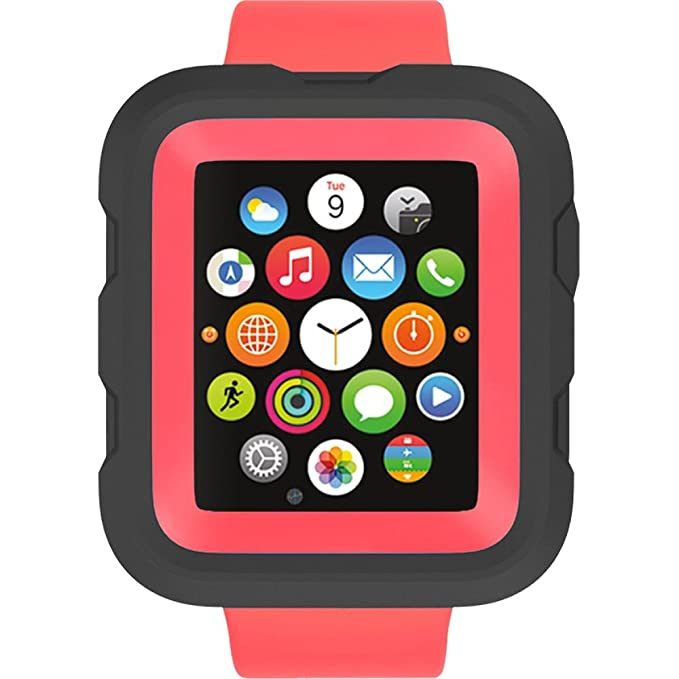 new style 13325 7b749 Griffin Survivor Tactical Case for Apple Watch 38mm, Coral fire - You and  Your Apple Watch. Ready for Anything.