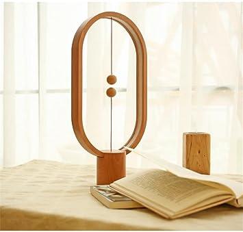XIHAB Balance Lampe Ellipse Magnetische Mid Air Schalter USB Powered LED  Warme Augenpflege