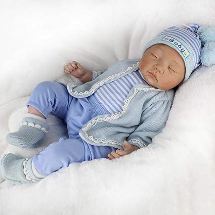 c4bb66ae13cf Oddity 55cm Muñecas Bebé Reborn Baby Dolls Simulación Muñecas Hechas a Mano  Muñecas Niñas Vinilo Suave