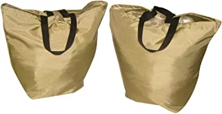 product image for Two Pack reusable grocery canvas gag, sturdy to carry lot of grocery (Sage)