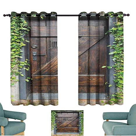 Tremendous Amazon Com Rustic Door Curtains Small Spanish Style Dark Caraccident5 Cool Chair Designs And Ideas Caraccident5Info