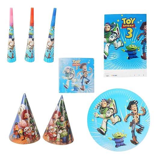 33 Piezas Toy Story Platos temáticos Tazas Baby Shower ...
