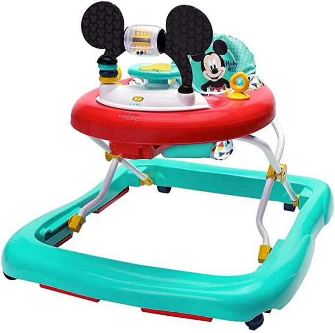 Disney Baby Mickey Mouse Happy Triangles Walker