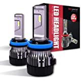 H11 LED Headlight Bulbs -H8 H9 All-in-One 10000LM- Sinoparcel Mini Light Conversion Kits 2 Yr Warranty