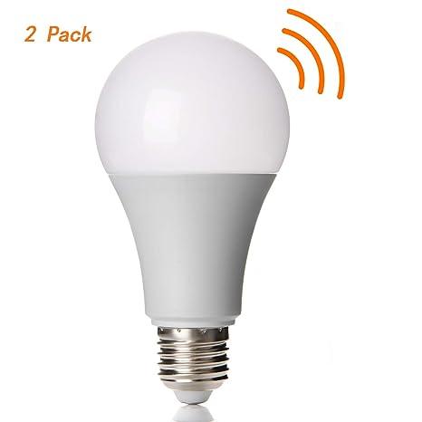 Lineway LED Glühbirne mit Bewegungsmelder 12W E27 6000K außen/innen Automatische Glühbirne Radarsensor Glühlampe für Treppen