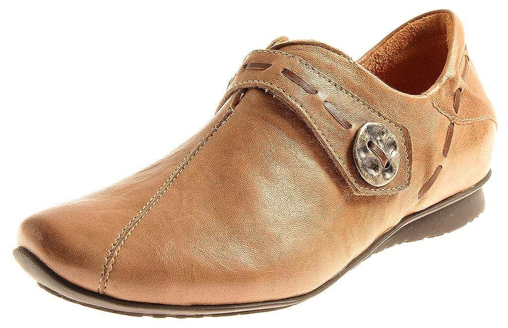 Think  86116 Damen Halbschuhe Sommer Klettschuhe Damenschuhe Turnschuhe Schuhe Leder