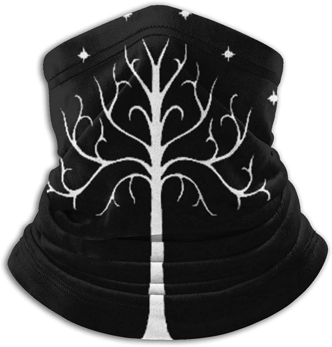 Lord of The Rings Neck Warmer Gaiter Windproof Mouth Face Mask Scarf for Men Women Black