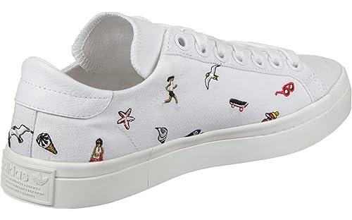 brand new 3d84f 11506 adidas Courtvantage W, Zapatillas de Deporte para Mujer Amazon.es Zapatos  y complementos