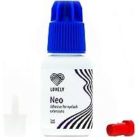 LOVELY Eyelash Adhesive NEO (5ml, kleur: ZWART) vloeistof + snelle kleefstof, droogtijd IMMEDIATELY - 8 weken…