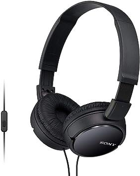 a759390b2fa Sony MDR-ZX110APB - Auriculares para Smartphone (Diadema, Mando de Control,  micrófono, 1000 MW, Android y iPhone), Negro: Amazon.es: Electrónica
