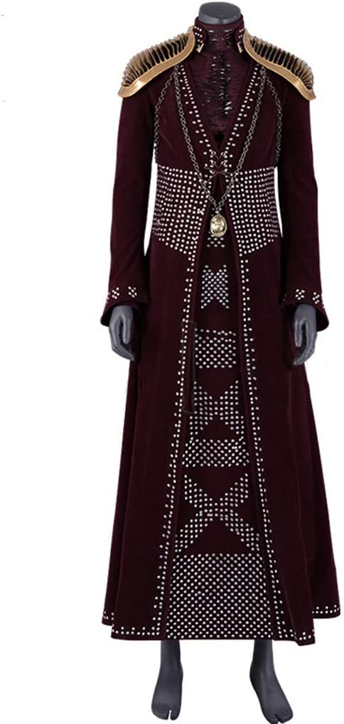 nihiug Juego de Tronos Temporada 8 Selen Lannistercos Disfraces ...