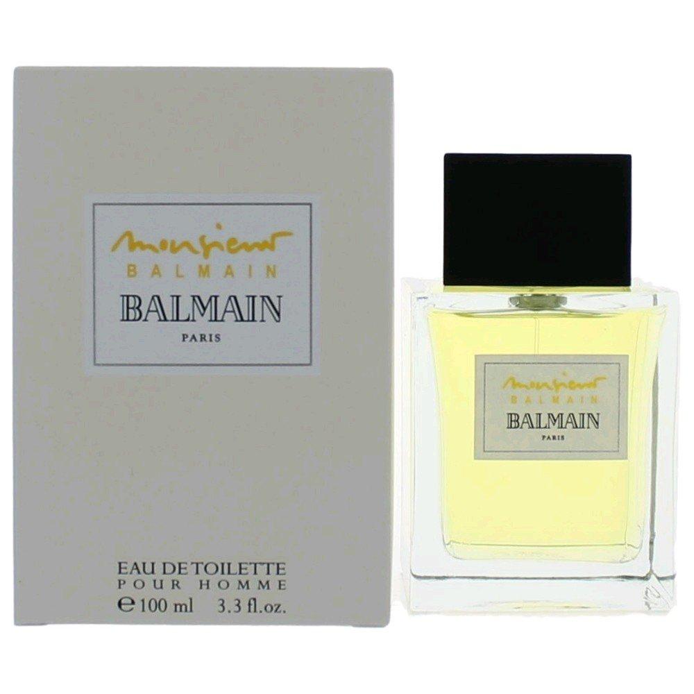b8d72315 Amazon.com : Monsieur Balmain by Balmain 3.3 100ml EDT Spray : Eau De  Toilettes : Beauty
