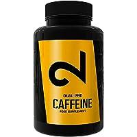 DUAL Pro CAFFEINE | Cafeína 100% Pura Certificada por Laboratorio | 120 Pastillas De Cafeína De Dosis Alta | Sin…