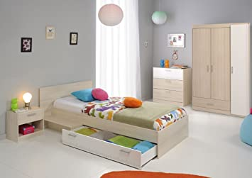 Kinderzimmermöbel set  Parisot Kinderzimmermöbel-Set 4tlg. Charly 12 Kinderzimmermöbel-Set ...