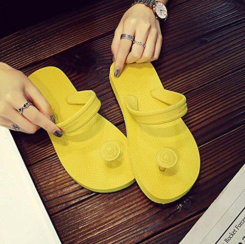 Langmotai SandalenSommer Lady Sandalen Hausschuhe Lady Home Hausschuhe Hausschuhe Sandalen Hausschuhe, Schwarz  | Verschiedene  | Starke Hitze- und Abnutzungsbeständigkeit  | Schön In Der Farbe