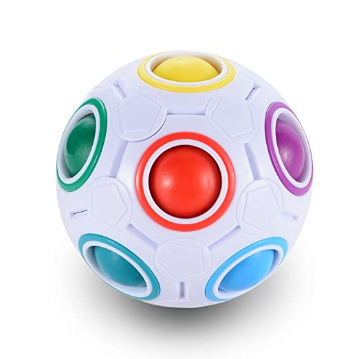 LanLan Bola Mágica de Arco Iris, Cubo de Velocidad Inteligente de ...