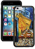 iPhone 6S Case, iPhone 6 Case - Vincent Van Gogh Starry Night Clear transparent designer hybrid case cover with drop protection - Unique Cool Cute Trendy Case by OptiCase