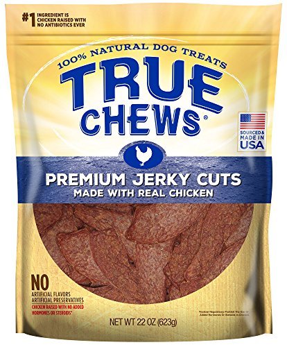 True Chews Premium Jerky Cuts Made with Real Chicken 22 oz