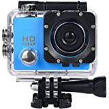 Mikkar Waterproof Camera HD 1080P Sports Action Camera DVR Cam DV Video Camcorder