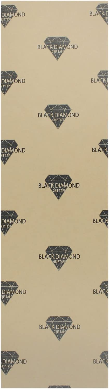 Single Sheet Black Diamond Longboard Griptape 10x48 Colors