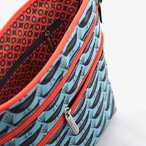 Blue Shoulder Merle Bag Nicky James Xwqfxz4qP