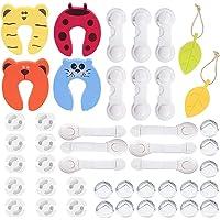 45 Pcs Kit de Seguridad para Bebés,Cerraduras