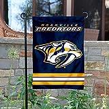 Nashville Predators Double Sided Garden Flag