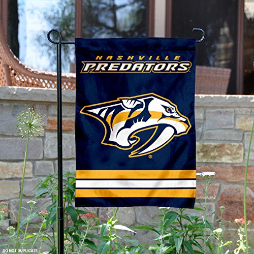 WinCraft Nashville Predators Double Sided Garden -