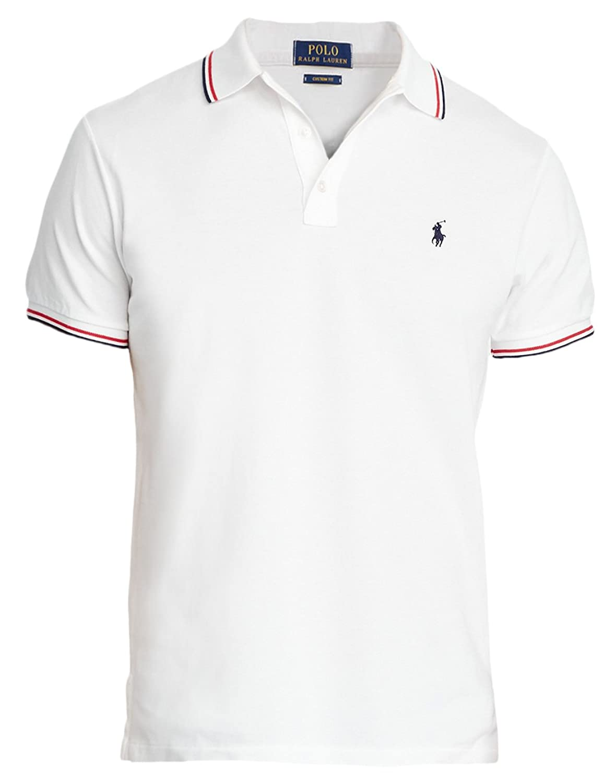 Polo Ralph Lauren Men\u0027s Custom-Slim-Fit Mesh Polo at Amazon Men\u0027s Clothing  store:
