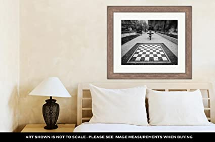 Ashley Framed Prints Checker Tables In Downtown El Paso Texas, Wall Art  Home Decoration,