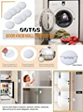 Pack of 3 Pieces Silicone Doors Knob Wall